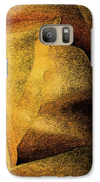 Galaxy Case featuring the photograph Rose Yellow Fresco by Jean OKeeffe Macro Abundance Art