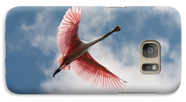 Galaxy Case featuring the photograph Roseate Soaring by Paul Rebmann