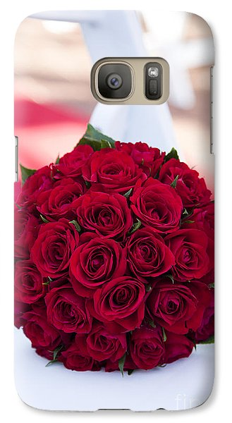 Galaxy Case featuring the photograph Roses Are Red by Serene Maisey