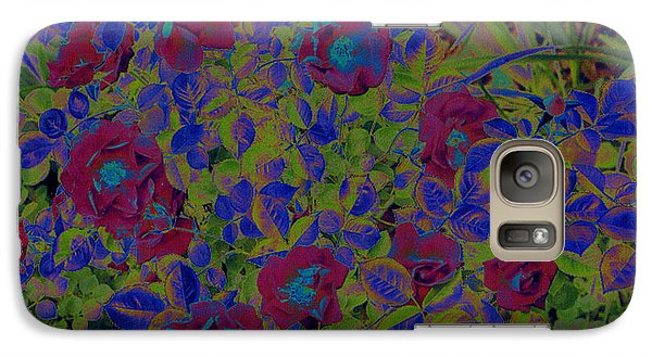 Galaxy Case featuring the photograph Roses By Jrr by First Star Art