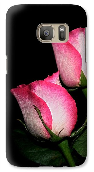 Galaxy Case featuring the photograph Roses by Cathy Harper