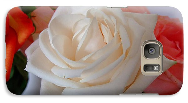 Galaxy Case featuring the photograph Roses by Deborah DeLaBarre