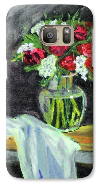 Galaxy Case featuring the painting Roses For Mother's Day by Michael Daniels