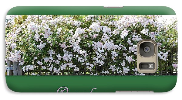 Galaxy Case featuring the photograph Roses For You by Linda Prewer