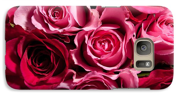 Galaxy Case featuring the photograph Roses by Matt Malloy