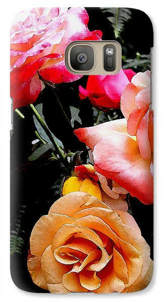 Galaxy Case featuring the photograph Roses Roses Roses by James C Thomas