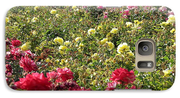 Galaxy Case featuring the photograph Roses Roses Roses by Laurel Powell