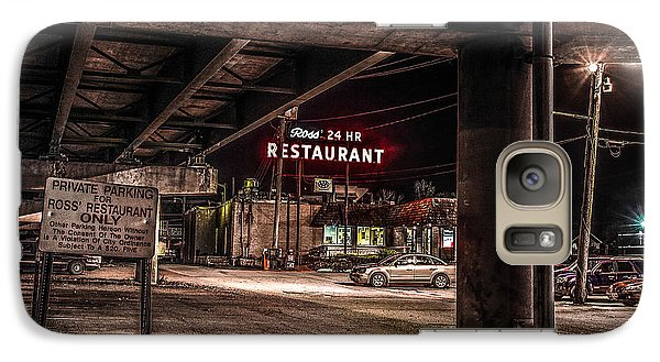 Galaxy Case featuring the photograph Ross' Restaurant by Ray Congrove