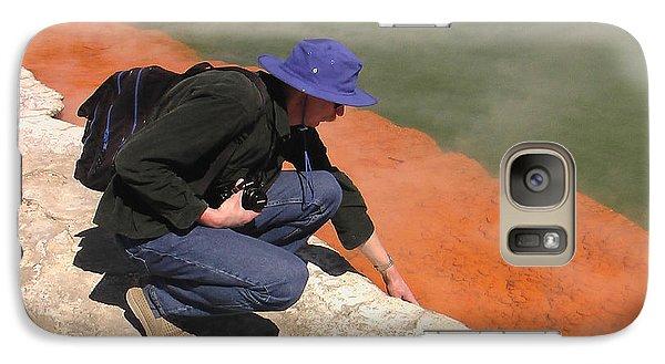Galaxy Case featuring the photograph Rotorua New Zealand 2 by Mariusz Kula