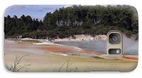 Galaxy Case featuring the photograph Rotorua New Zealand 3 by Mariusz Kula