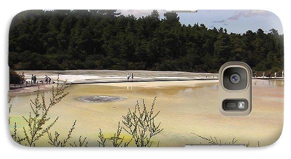Galaxy Case featuring the photograph Rotorua New Zealand 4 by Mariusz Kula