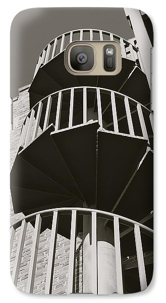 Galaxy Case featuring the photograph Round And Round by Roseann Errigo