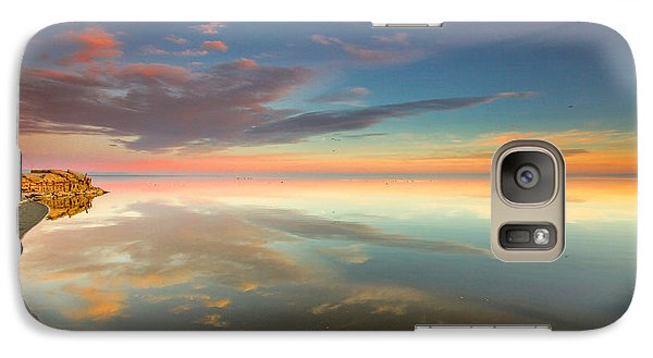 Galaxy Case featuring the photograph Rounded Reflections by Robert  Aycock