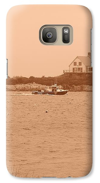 Galaxy Case featuring the photograph Rounding The Point by Jean Goodwin Brooks