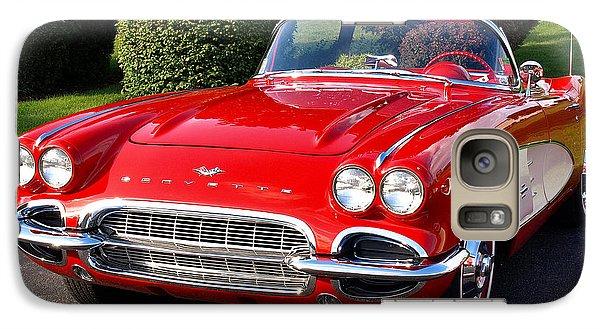 Route 66 - 1961 Corvette Galaxy S7 Case