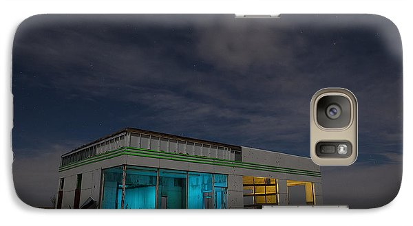 Galaxy Case featuring the photograph Route 66 Full Service by Keith Kapple