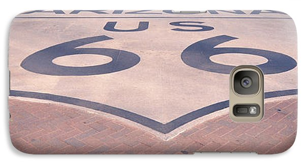 Route 66 In Brick  Galaxy S7 Case