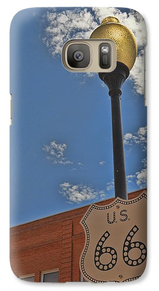 Route 66 Light Post Galaxy S7 Case