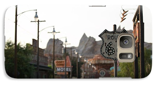 Galaxy Case featuring the photograph Route 66 by Michael Albright