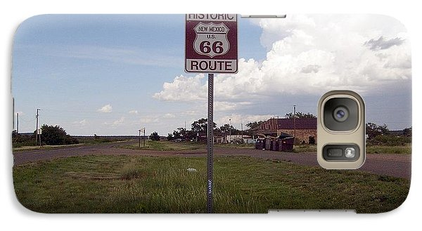 Galaxy Case featuring the photograph Route 66 by Philomena Zito