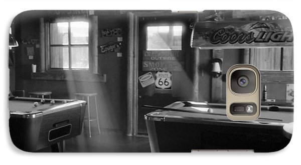 Galaxy Case featuring the photograph Route 66 Pool Hall by Luis Esteves