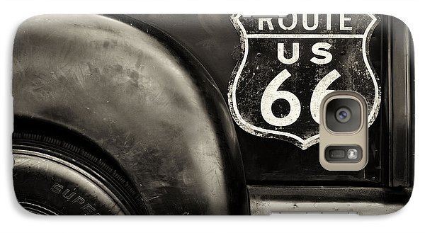Route 66 Galaxy Case by Tim Gainey