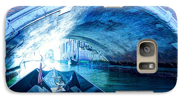 Galaxy Case featuring the photograph Route To Light by Hanza Turgul