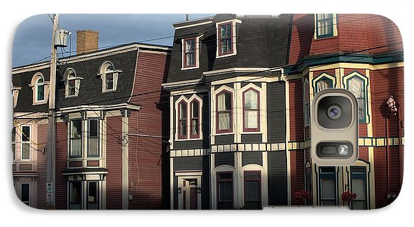 Galaxy Case featuring the photograph Row Houses by Douglas Pike