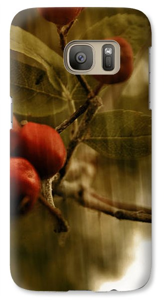 Galaxy Case featuring the mixed media  Berry Nice by Fine Art By Andrew David