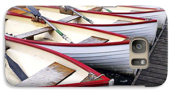 Boat Galaxy S7 Case - Rowboats by Elena Elisseeva