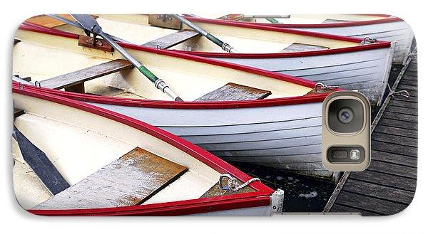 Rowboats Galaxy S7 Case by Elena Elisseeva