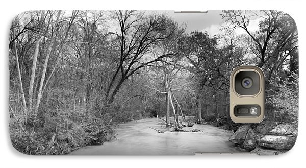 Galaxy Case featuring the photograph Rowlett Creek by Darryl Dalton