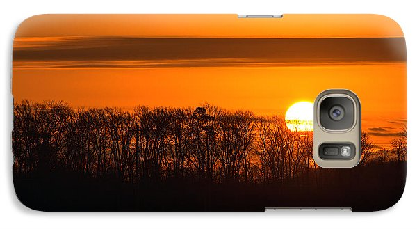 Galaxy Case featuring the photograph Roxanna Sunrise by Bill Swartwout