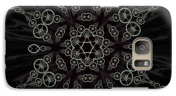 Galaxy Case featuring the digital art Royal Amulet For The Princess by Rhonda Strickland