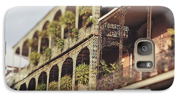 Galaxy Case featuring the photograph Royal Balconies by Heather Green