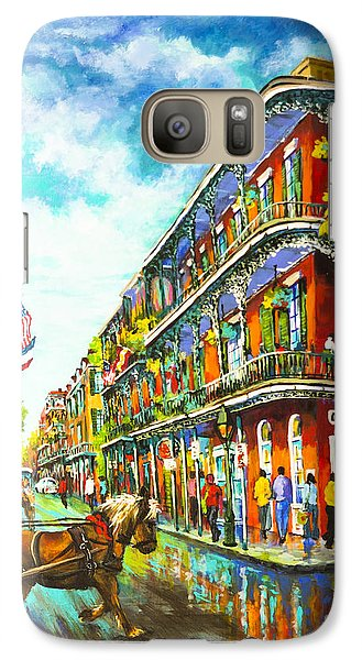 Galaxy Case featuring the painting Royal Carriage - New Orleans French Quarter by Dianne Parks