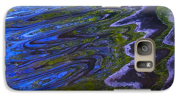Galaxy Case featuring the photograph Royal Florescence by Cindy Lee Longhini