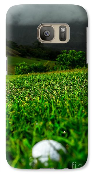 Galaxy Case featuring the photograph Royal Hawaiian Golf by Angela DeFrias