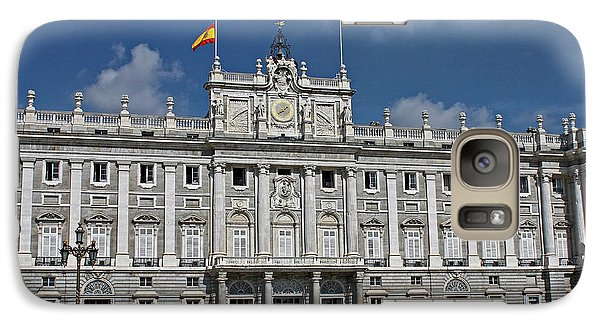 Galaxy Case featuring the photograph Royal Palace Of Madrid by Farol Tomson