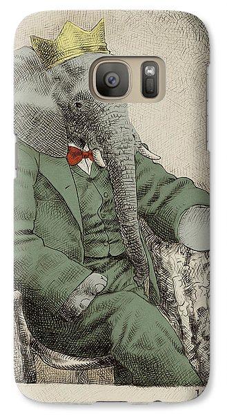 Royal Portrait Galaxy S7 Case by Eric Fan