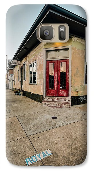 Galaxy Case featuring the photograph Royal Street Landerette In The Marigny Of New Orleans by Ray Devlin
