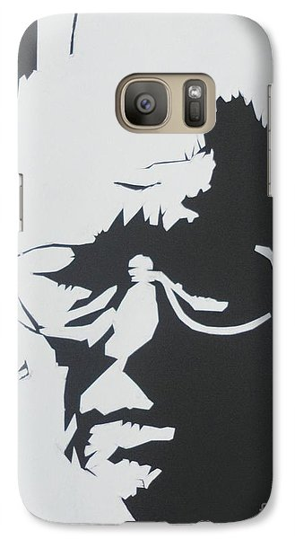 Galaxy Case featuring the drawing Royal's Portrait by PainterArtist FINs husband Maestro