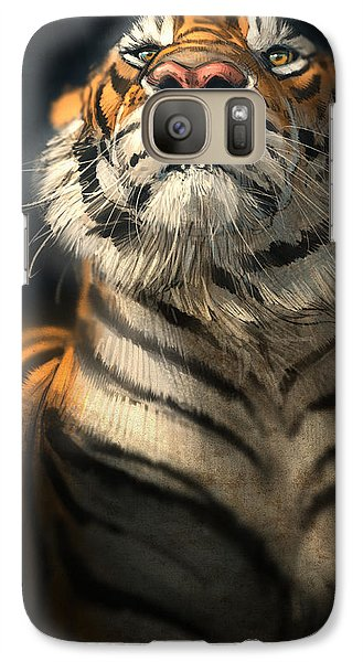 Tiger Galaxy S7 Case - Royalty by Aaron Blaise