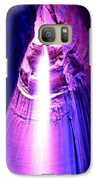 Galaxy Case featuring the photograph Ruby Falls by Cathy Shiflett
