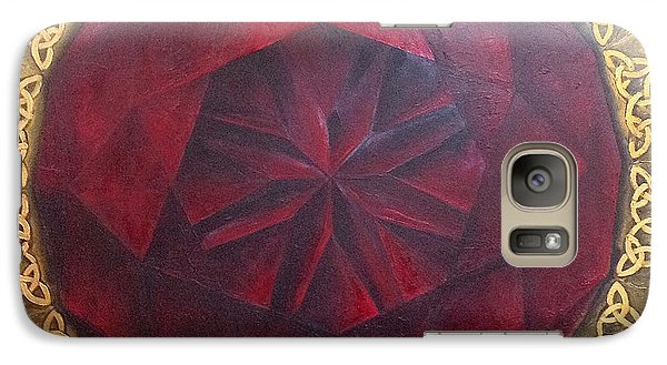 Galaxy S7 Case featuring the painting . by James Lanigan Thompson MFA