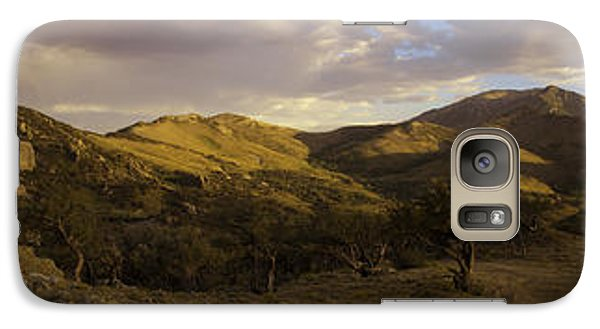 Galaxy Case featuring the photograph Ruby Mountain Panorama by Jim Snyder