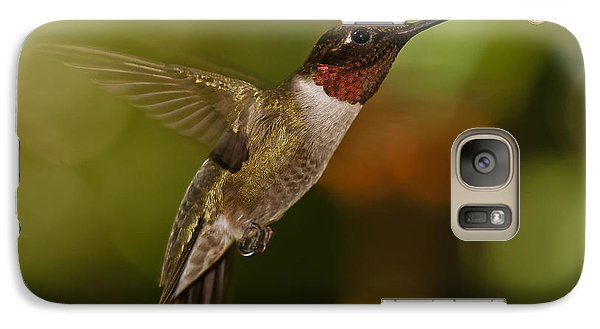 Galaxy Case featuring the photograph Ruby-throat Hummingbird by Robert L Jackson