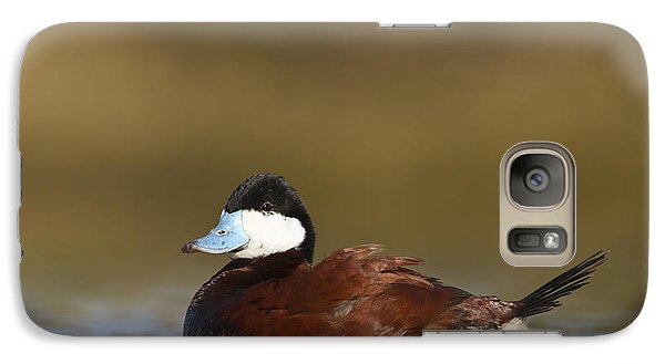 Galaxy Case featuring the photograph Ruddy Duck  by Bryan Keil
