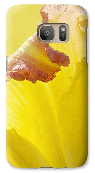 Galaxy Case featuring the photograph Ruffles Have Ridges by Kathi Mirto