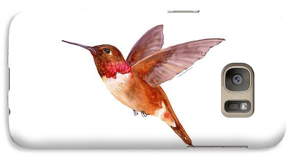 Rufous Hummingbird Galaxy S7 Case